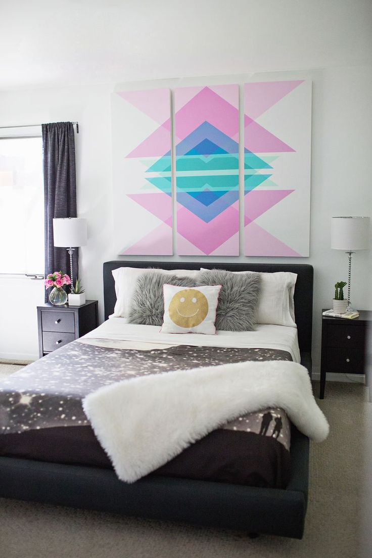 trendy-and-eye-catching-geometric-and-bedroom-decor-ideas-13