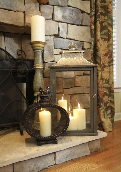 adorable-fireplace-candle-displays-for-any-interior-13