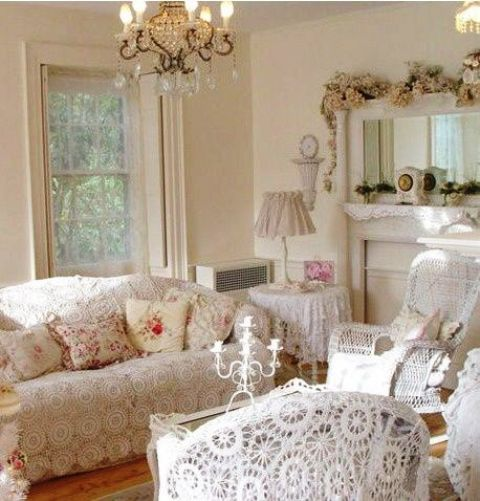 enchanted-shabby-chic-living-room-designs-33