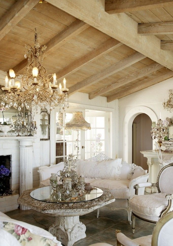 enchanted-shabby-chic-living-room-designs-34