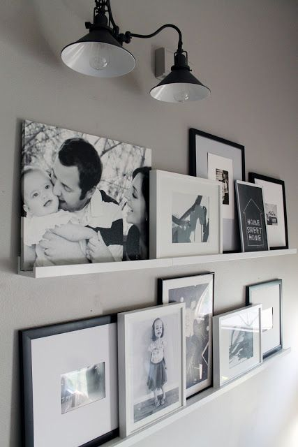 cool-ways-to-use-picture-ledges-for-home-decor-14