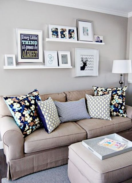 cool-ways-to-use-picture-ledges-for-home-decor-18