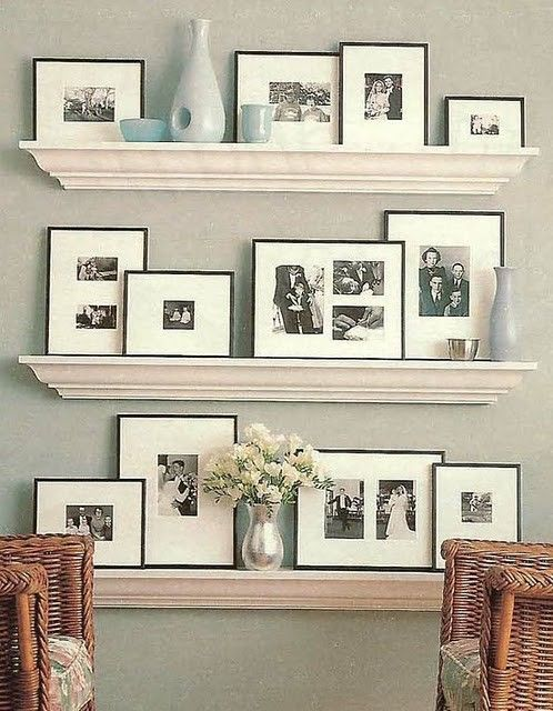 cool-ways-to-use-picture-ledges-for-home-decor-20