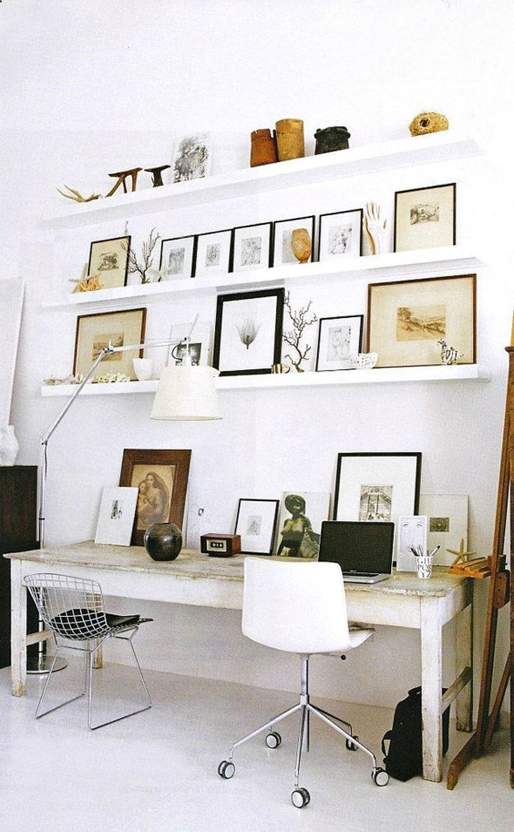 cool-ways-to-use-picture-ledges-for-home-decor-24