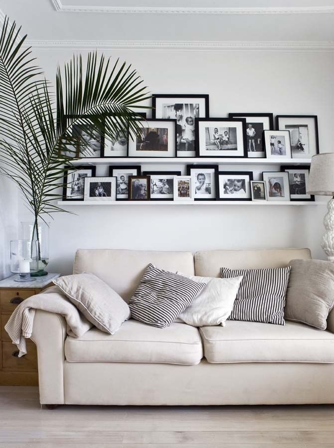 cool-ways-to-use-picture-ledges-for-home-decor-28