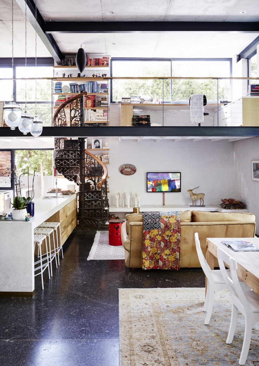 airy-eclectic-loft-with-a-collection-of-art-and-furniture-1