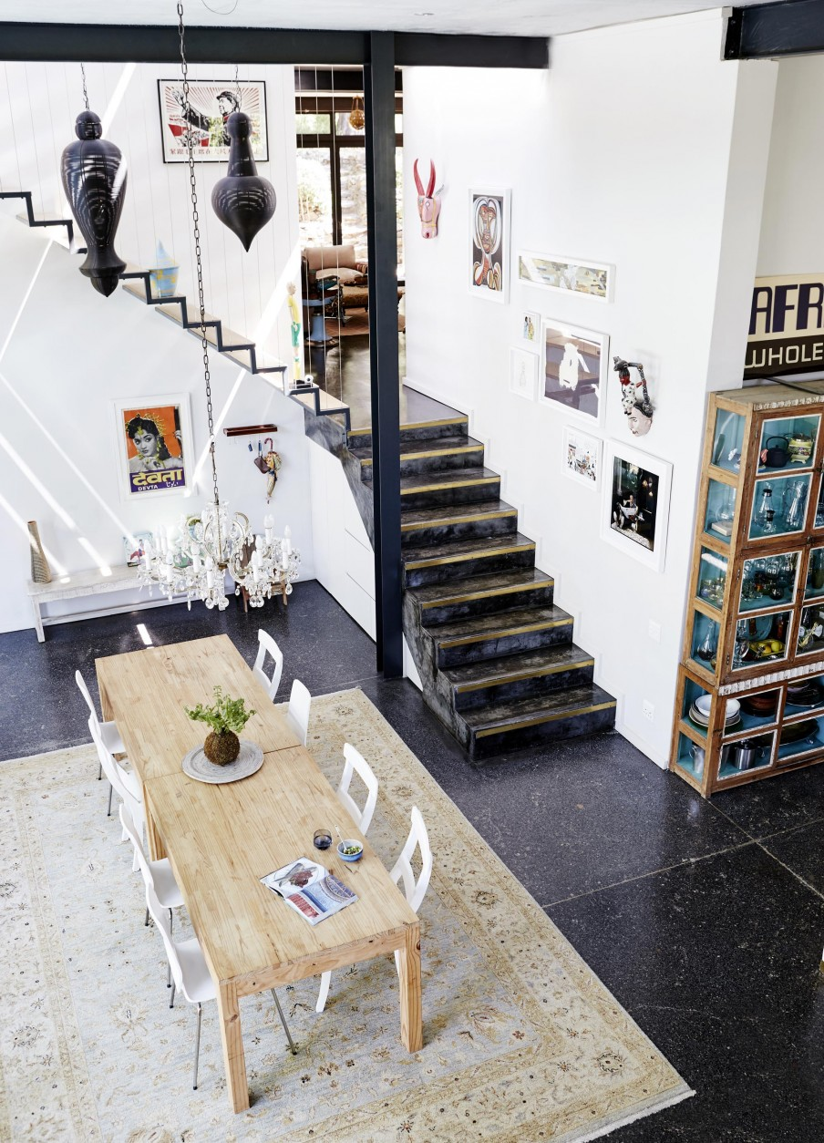 airy-eclectic-loft-with-a-collection-of-art-and-furniture-2