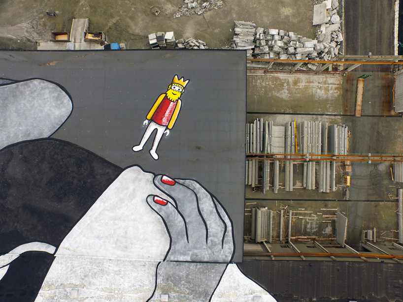 ella-pitr-nuart-festival-norway-largest-mural-in-the-world-designboom-04