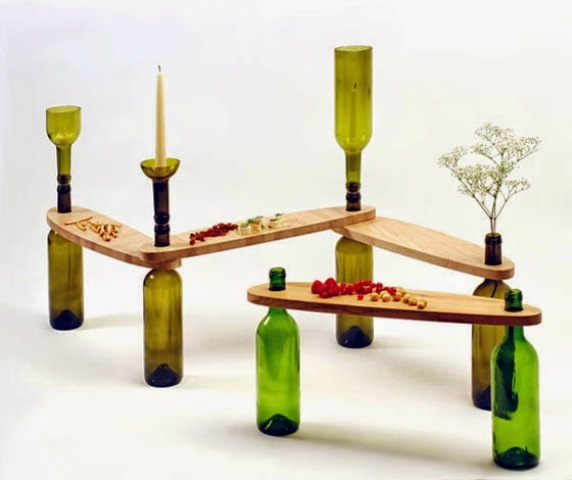 side-tables-from-reused-bottles-and-wooden-tops-6