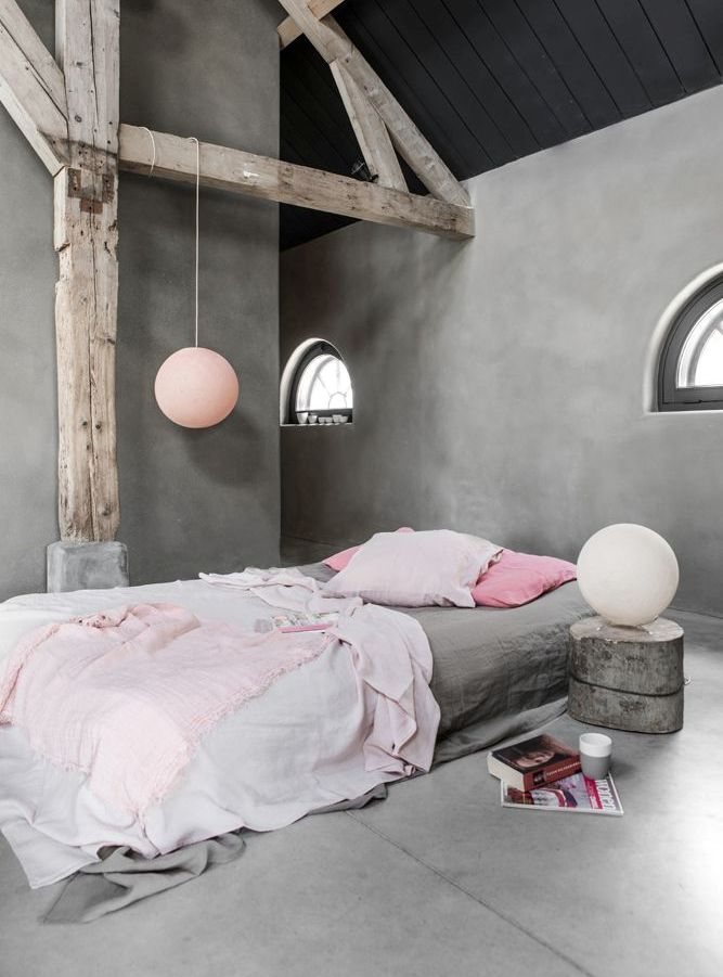 metallic-grey-and-bold-pink-home-decor-ideas-22