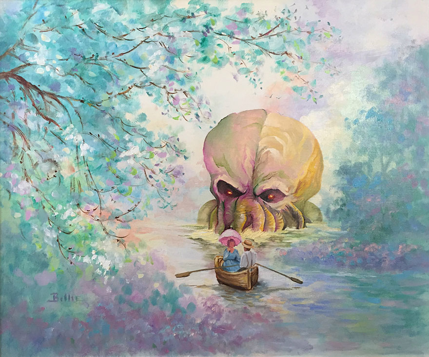 pop-culture-characters-thrift-store-paintings-dave-pollot-1