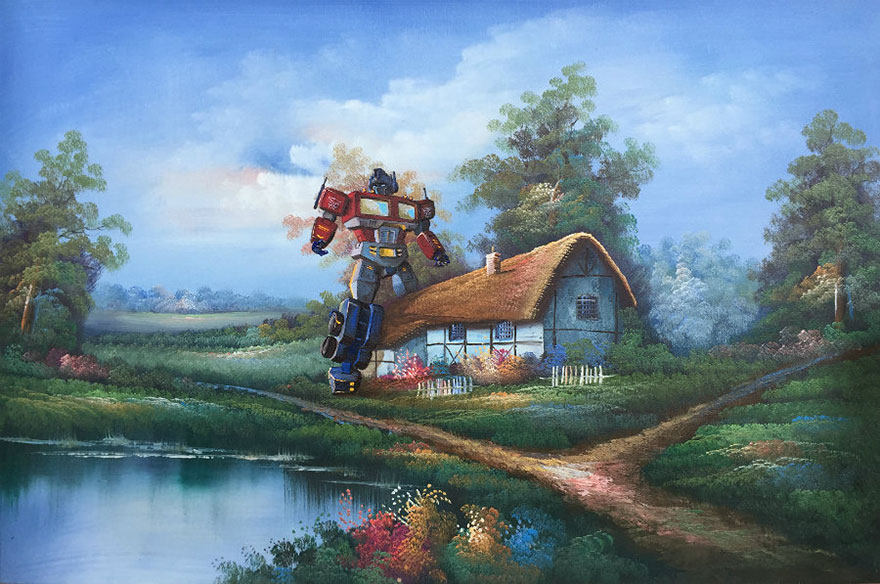 pop-culture-characters-thrift-store-paintings-dave-pollot-20