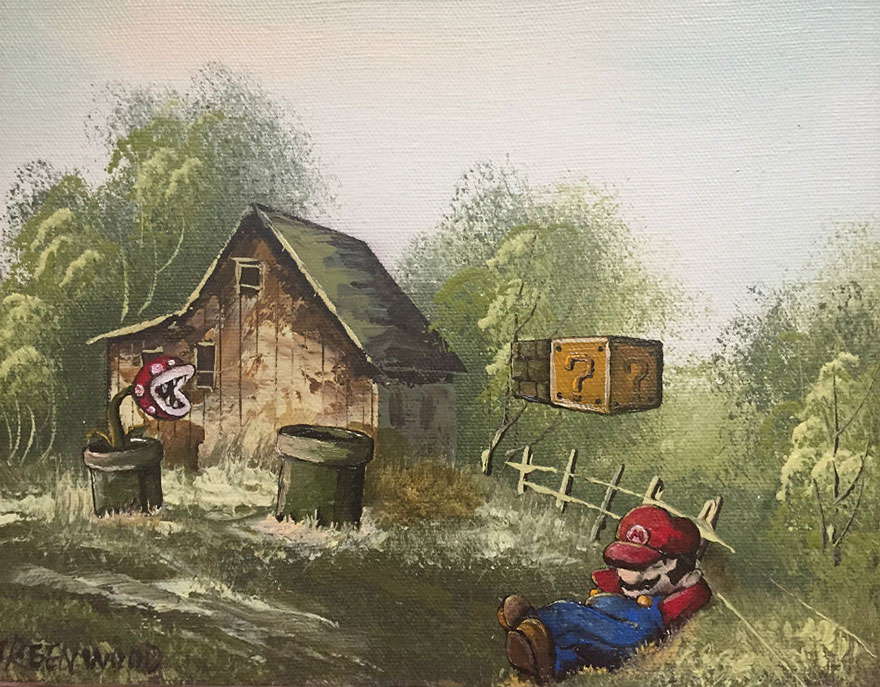 pop-culture-characters-thrift-store-paintings-dave-pollot-21