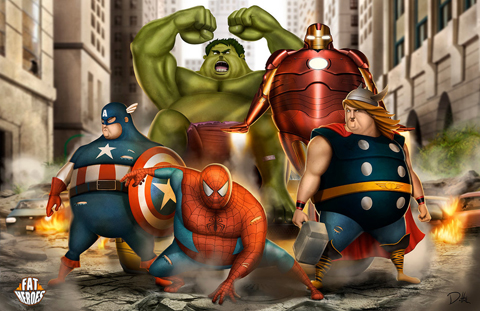 fat_heroes___spidey_and_the_avengers__by_carlosdattoliart-d8gjemo_zpsh3hw0me9