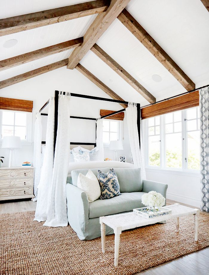 chic-bedroom-designs-with-exposed-wooden-beams-22