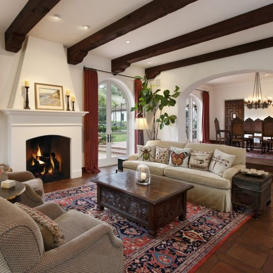 cozy-living-room-designs-with-exposed-wooden-beams-10-554x554