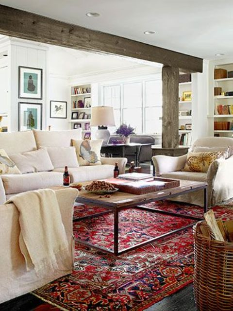 cozy-living-room-designs-with-exposed-wooden-beams-16