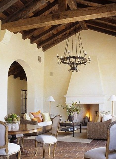 cozy-living-room-designs-with-exposed-wooden-beams-21