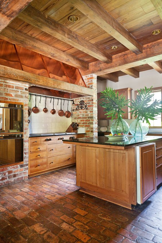 inviting-kitchen-designs-with-exposed-wooden-beams-19