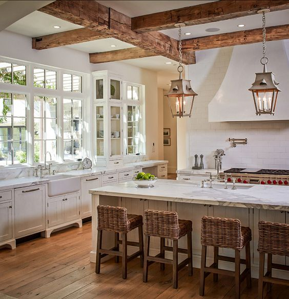 inviting-kitchen-designs-with-exposed-wooden-beams-8
