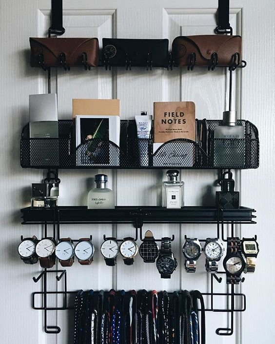 cool-ways-to-organize-men-accessories-at-home-13