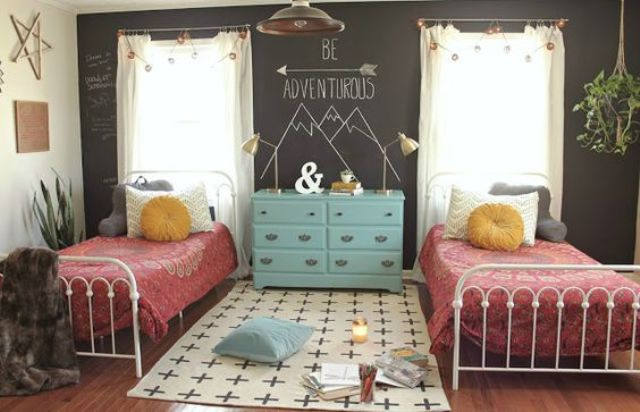 chic-and-inviting-shared-teen-girl-rooms-ideas-5