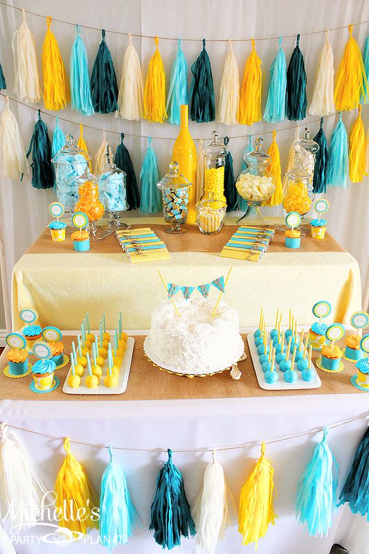 colorful-dessert-table-for-a-gender-neutral-baby-shower
