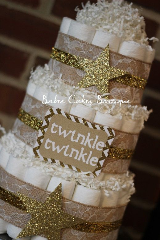 diaper-cake-for-a-gender-neutral-baby-shower