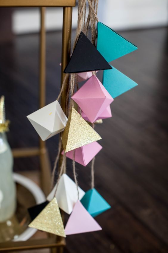 geometric-decorations-for-a-modern-baby-shower