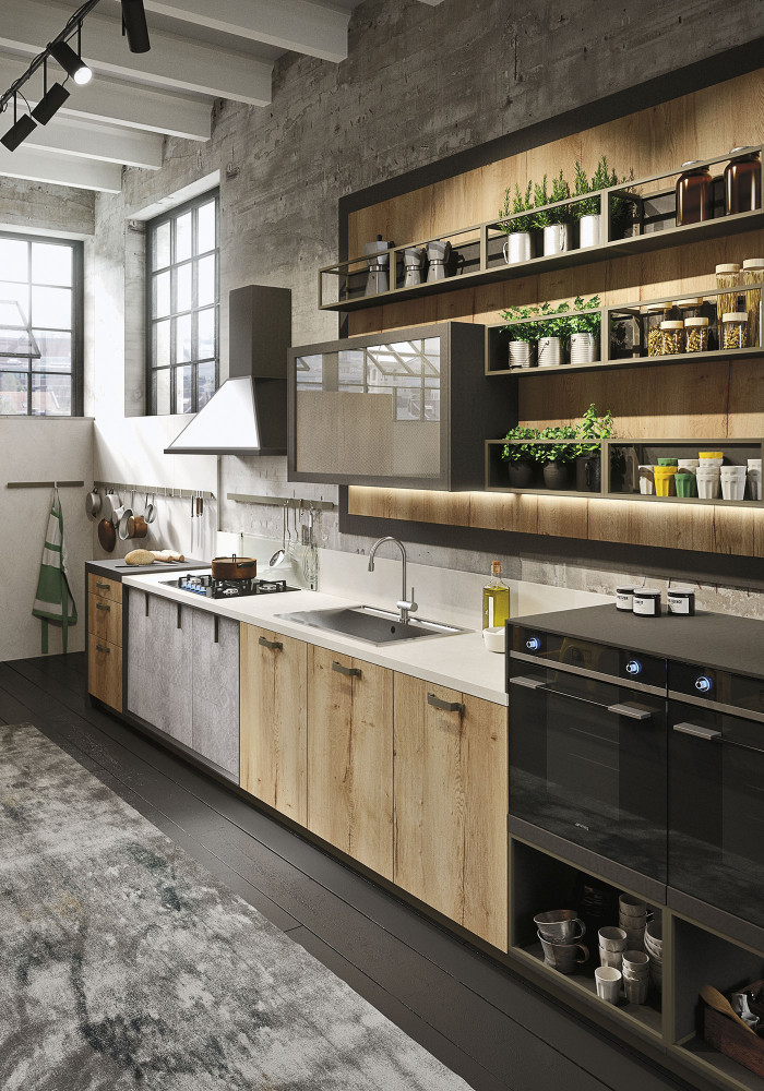 industrial-loft-kitchen-with-light-wood-in-design-1