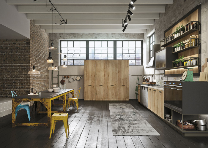 industrial-loft-kitchen-with-light-wood-in-design-2