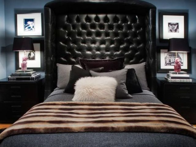 tufted-leather-masculine-headboard