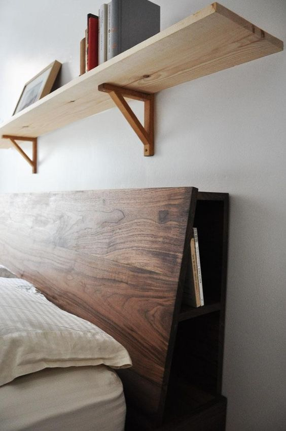 walnut-masculine-headboard-with-book-storage