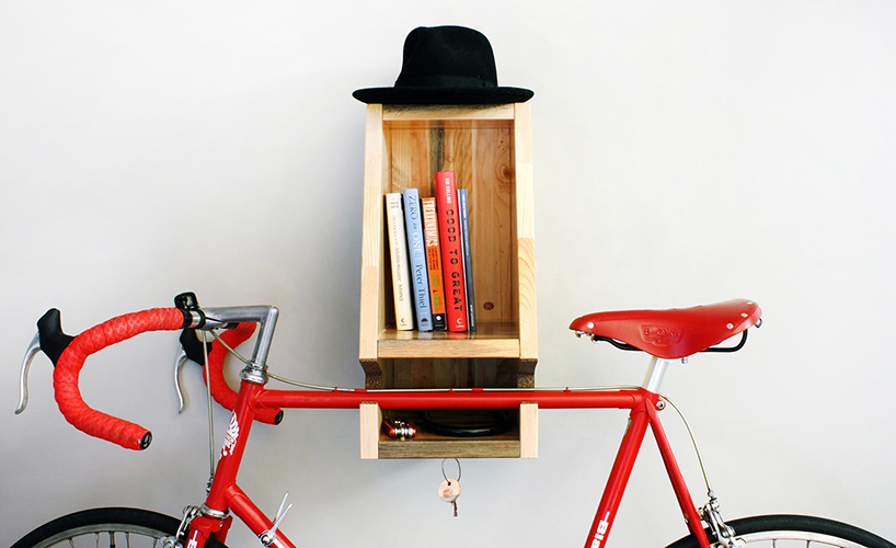 01-This-genius-design-is-created-for-small-spaces-as-here-you-can-place-your-bike-books-keys-and-other-stuff-and-save-some-space