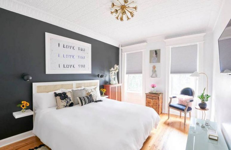 08-Theres-a-black-accent-wall-in-the-bedroom-775x502