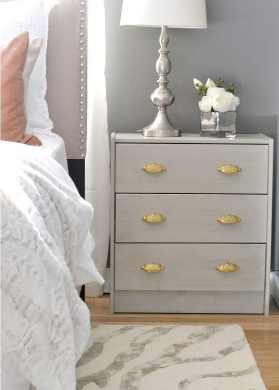 10-glam-pearl-grey-Rast-hack-for-a-bedside-table