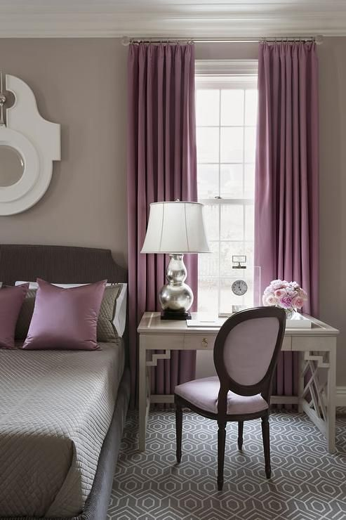 13-feminine-bedroom-with-a-retro-inspired-desk-and-nightstand-in-one