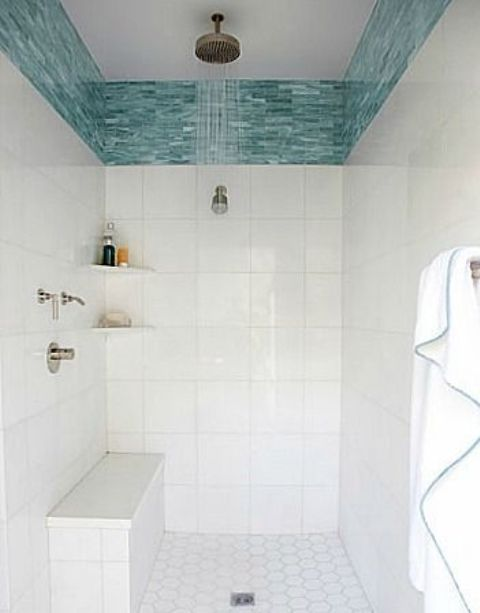 14-wide-turquoise-glass-tile-border-in-the-shower