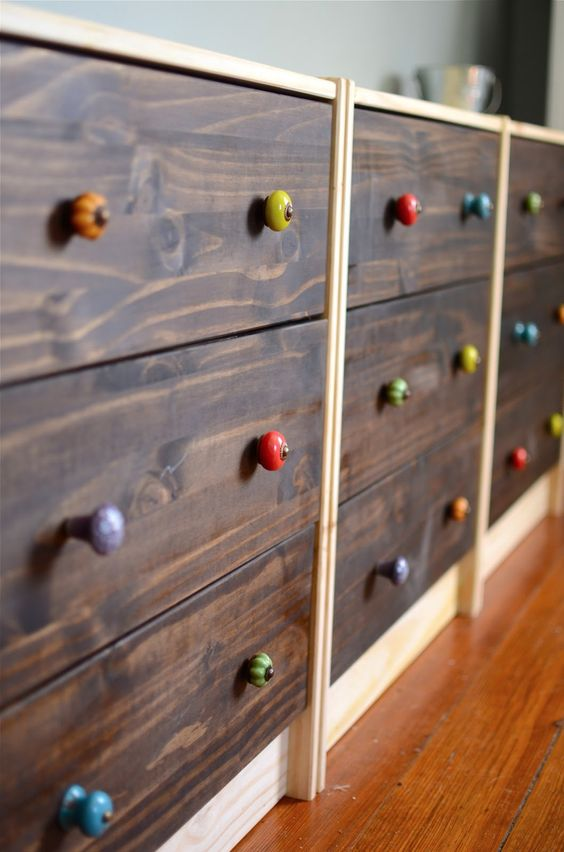 21-wood-clad-IKEA-Rast-dresser-with-colorful-knobs