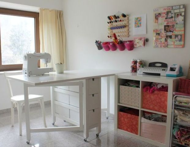 22-white-Norden-Gateleg-table-for-a-craft-room
