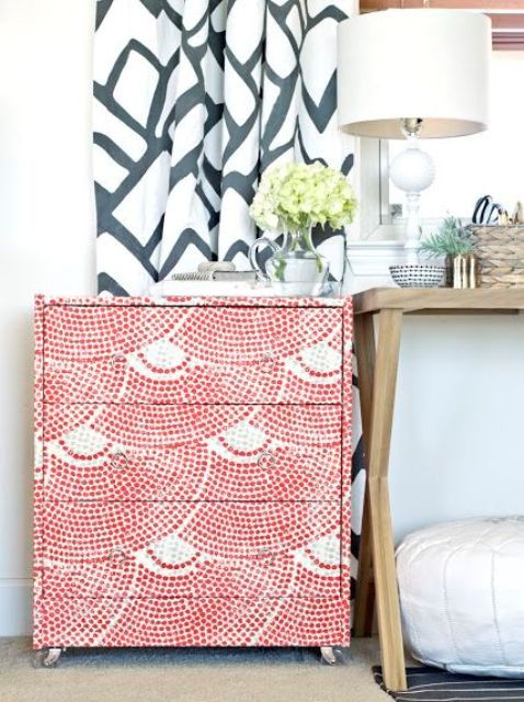 25-fabric-wrapped-IKEA-Rast-dresser
