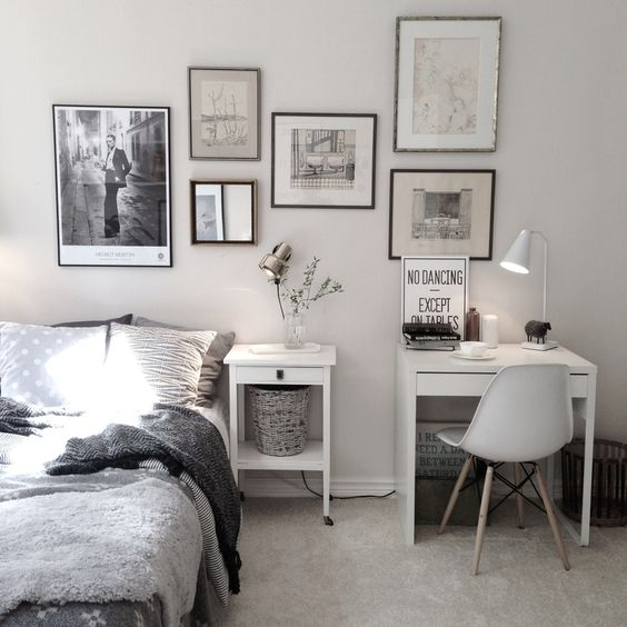 27-Scandinavian-bedroom-with-a-small-white-desk
