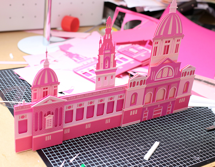 Craft-Paper-Cityscapes-of-Barcelona10