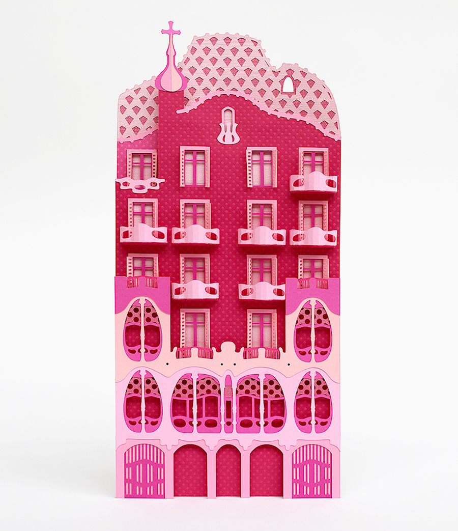 Craft-Paper-Cityscapes-of-Barcelona5