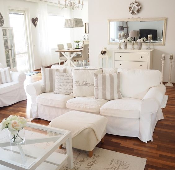 Ektorp-sofa-in-a-vintage-styled-living-room