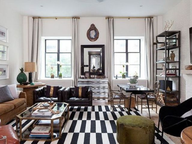 chic-glam-living-room-with-Stockholm-rug