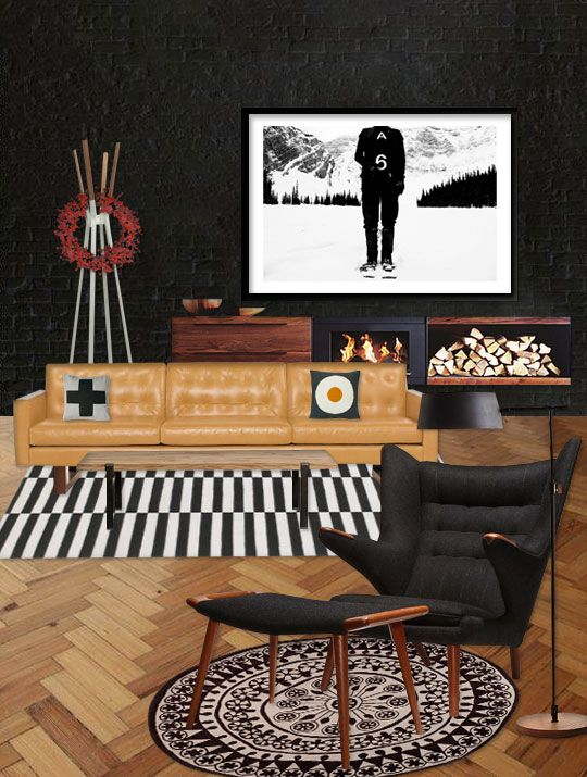 dark-modern-living-room-with-Stockholm-rug