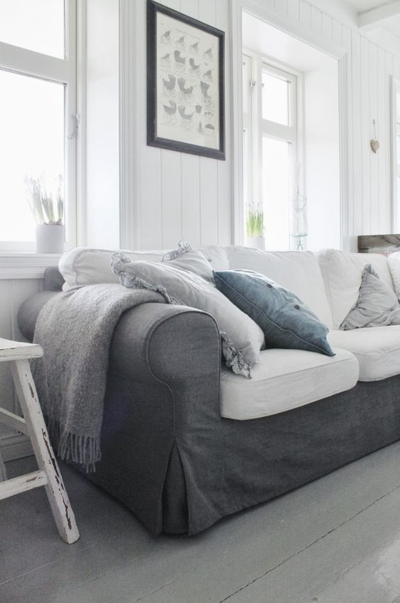 graphite-grey-Ektorp-sofa-in-a-living-room