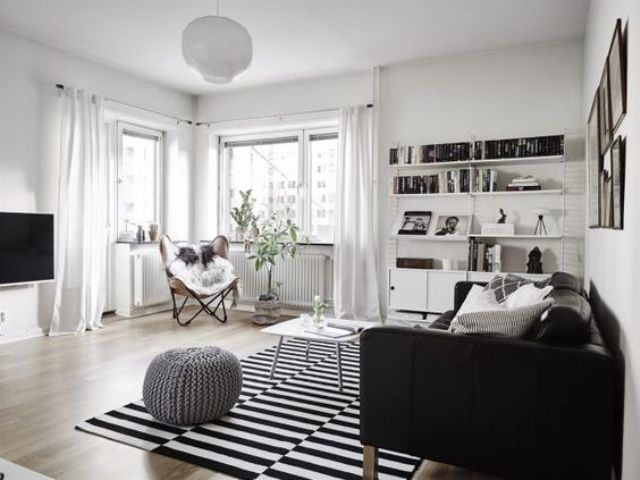 monochromatic-living-room-with-Stockholm-rug