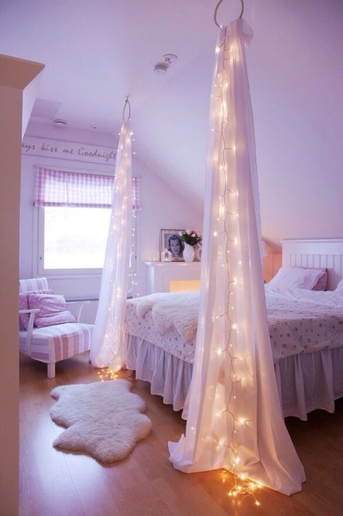 05-curtains-with-LED-lights-are-used-to-divide-the-room-into-areas